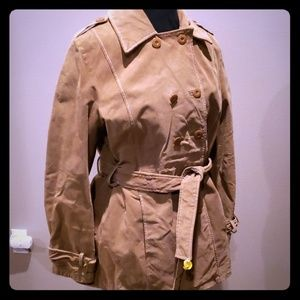 Wilsons leather maxima jacket tan